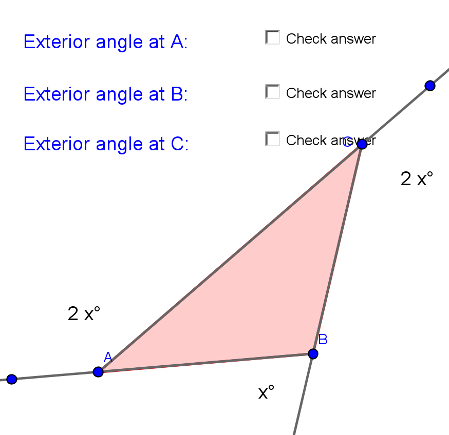 Interior And Exterior Angles Of A Regular Polygon Worksheet